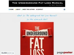 The Underground Fat Loss Manual Free Download